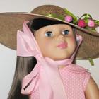 Шляпка для куклы Букет тюльпанов