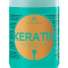 Маска для волос kallos keratin hair mask 1000 мл