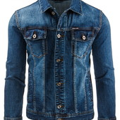 Мужская джинсовая куртка