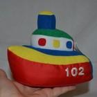 Обалденный мягкий кораблик спасательной службы