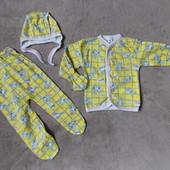 Комплекты для новорожденных размеры 18, 20, 22