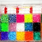Loom Bands  разноцветные 4400 резинки для плетения, браслетов сувениров оптом розница