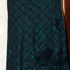 Длинная юбка для холодной погоды.