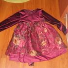 Новое нарядное платье девочке 3-5лет