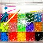 Резиночки для плетения браслетов Rainbow Loom Bads 4000шт+станок оптом розница