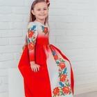 Готові зшиті дитячі платтячка-сарафани  для вишивки бісером на 3-5 років та на 5-7 років