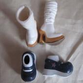 Обувь для кукол Bratz и барби