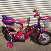 Детские двухколесные велосипеды  Princess Story История принцессы на 12,16,20 д