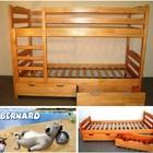 Кровать двухъярусная Бернар + матрасы ортопедические
