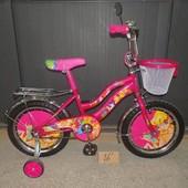 Двухколесный велосипед Мустанг Винкс Mustang Winks феи винкс для девочек