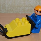 Lego Duplo 4661 Construction Worker Лего утрамбовщик.