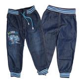 Стиляшные джинсики для мальчишек на рост 92 и 98