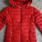 Куртка демисезонная, красная, новая для девочки р. 38-40