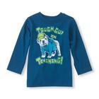 Синий реглан с собачкой Childrens Place для мальчика 18-24 мес.