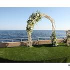 Выездная церемония бракосочетания. Прокат арки. Декор. Флористика. Живые и искусственные цветы.