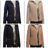Женская стеганная куртка, демисезонная женская куртка