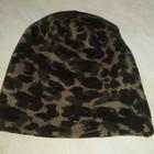 H&M мужская шапка камуфляжной расцветки