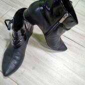 Ботинки  Gina натуральная кожа р.38