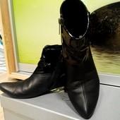 Ботинки  Gina кожаные р.38
