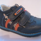 Детские туфли (ботиночки) для мальчиков, размер 22 - 13,5 см, код 156