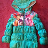 Продам б/у демисезонную курточку для девочки в отличном состоянии, р. 86