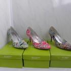 Яркие цветочные туфли,тм  blossem,38,и 41 -розовая  расцветки!