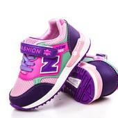 Качественные кроссовки для девочки бренда GFB, (р. 27-32), код - 133