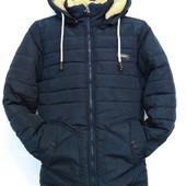 Детская зимняя куртка-парка для мальчика, р. 134-172, код - Артур