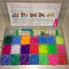 Резинки для плетения браслетов Rainbow Loom 4200 шт