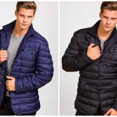 Мужская стеганная демисезонная модная куртка в двух цветах
