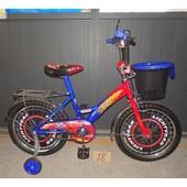 Двухколесные велосипед Мустанг Тачки с корзинкой