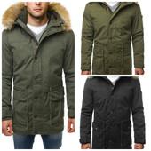 Брендовая мужская куртка парка зимняя Glo-story