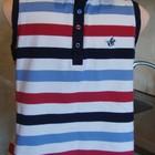 футболка тенниска цветная в полоску Joules Размер M/L 95%котон, 5%элас