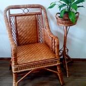 Кресла плетеное из лозы