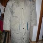Пуховое пальто 56-58 размер почти новое очень теплое