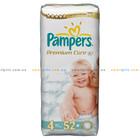 Подгузники PAMPERS Premium Care Maxi 4 (52 шт), 7-14 кг