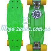 Скейтборд/скейт Penny Board (Пенни борд) Fish: Green, до 80кг
