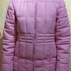 Зимняя легкая курточка, размер XXL + перчатки в подарок