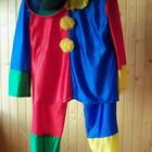 Клоун, карнавальный костюм для взрослого. Прокат.