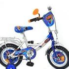 Детский 2-х колесный велосипед 12 дюймов P1248T Турбо Silver
