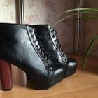 Ботинки JEFFREY CAMPBELL черные 35 р-р