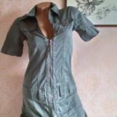 Фирменное стильное платье р -р  44 ( S )  Fishbone