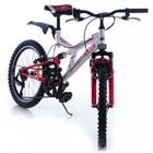 Двухколесный велосипед Азимту Динамик azimut dinamic G 20 дюймов красный
