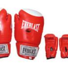 боксерские перчатки для бокса 12oz КОЖА красные