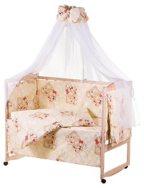 Детское постельное белье для новорожденных, комплект из 9 предметов с балдахином! фото №5
