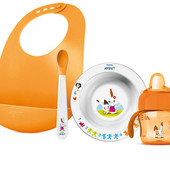 Набор посуды для кормления Philips Avent 6м+ (SCF730/00), со склада