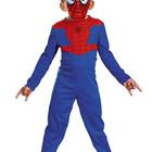 Распродажа - Карнавальный костюм Спайдермен с маской на  3-5, 5-7 лет  от Cesari  (Италия)