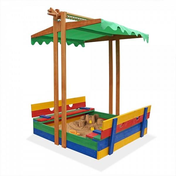 Детская песочница купить,песочница цветная (pes-10) фото №1
