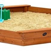 Деревянная песочница (pes-15)