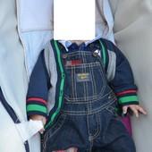фирменные джинсовые комбезики разные на 3-6 месяца Oshkosh Один на выбор!!!